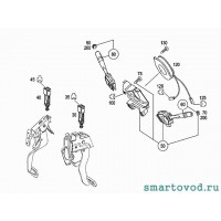Датчик педали тормоза (стоп-сигнала) Smart ForFour