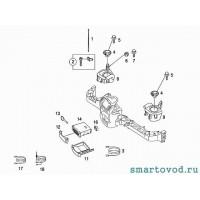 Боксы для установки динамиков в переднюю панель Smart ForTwo 98-07