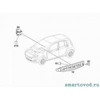 Кнопка стеклоподъемника переднего Smart ForFour