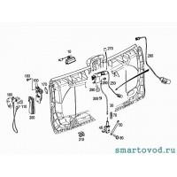 Замок правый механический крышки багажника Smart 451 ForTwo 2007 - 2010