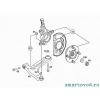 Подшипник / ступица передняя Smart ForFour