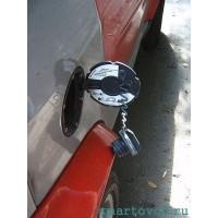 Крышка / люк бензобака черная Smart ForTwo 98-07
